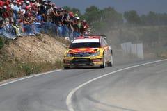 Reunión Portugal de WRC Foto de archivo libre de regalías
