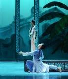 Reunión privada en del jardín- el acto trasero en segundo lugar de los eventos del drama-Shawan de la danza del pasado Foto de archivo