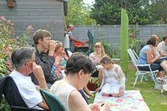 Reunión social Foto de archivo libre de regalías