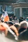 Reunión total de la unidad celebrada en Estrasburgo que sigue al terrorista reciente a Imágenes de archivo libres de regalías