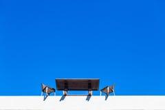 Reuniões de negócios sobre The Edge Fotografia de Stock Royalty Free