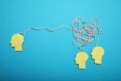Reuni?n de negocios, discusi?n Cerebro elegante Trabajo en equipo de la oficina fotografía de archivo libre de regalías