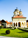 Reunification church in Alba Iulia, Romania Royalty Free Stock Photos