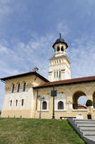 The reunification church in Alba Iulia, Romania Royalty Free Stock Images
