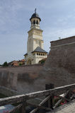 The reunification church in Alba Iulia, Romania Royalty Free Stock Photo