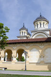 The reunification church in Alba Iulia, Romania Royalty Free Stock Photos
