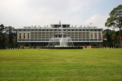 Reunification Palace Royalty Free Stock Images