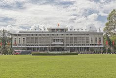 Reunification palace in Ho Chi Minh Stock Images