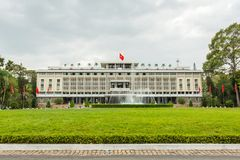 Reunification Palace in Ho Chi Minh City Royalty Free Stock Photos