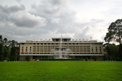 Reunification Palace in Ho Chi Minh City Royalty Free Stock Images