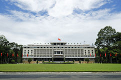 Reunification palace ho chi minh city vietnam Royalty Free Stock Photo