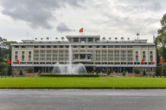 Reunification Palace in Ho Chi Minh City, Vietnam. Stock Photos