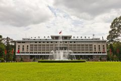 Reunification Palace. Ho Chi Minh city, Vietnam Stock Photography