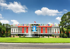 Reunification Palace in Ho Chi Minh city, Vietnam Stock Photography