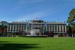 Reunification palace in ho chi minh city,vietnam Royalty Free Stock Image