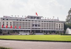 Reunification Palace Independence Palace in Ho Chi Minh City f Stock Images
