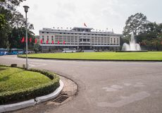 Reunification Palace Independence Palace in Ho Chi Minh City f Stock Photography