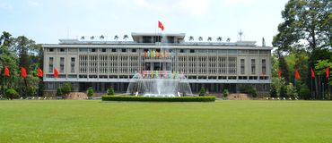 Reunification Palace Royalty Free Stock Photo