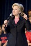 Reunión de Hillary Clinton Foto de archivo libre de regalías