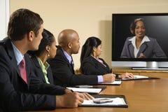 Reunión de negocios. Foto de archivo libre de regalías