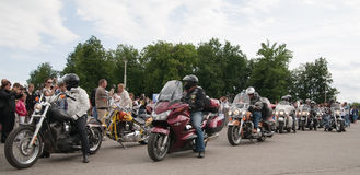 Reunión internacional de Harley-Davidson Imagen de archivo