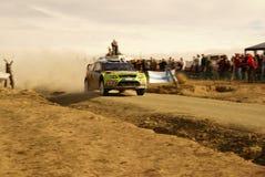 Reunión México de la corona de WRC 2010 LATVALA Imagen de archivo