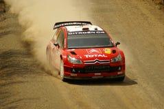 Reunión México de la corona de WRC Imágenes de archivo libres de regalías