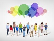 Reunión social del grupo de personas Foto de archivo libre de regalías