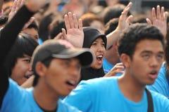 Reunião anticorrupção em Banguecoque Fotografia de Stock Royalty Free