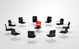Reunião da liderança Imagens de Stock