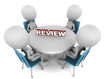 Reunião da revisão Fotografia de Stock