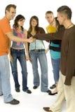 Reunião das juventudes Fotos de Stock