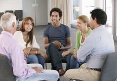 Reunião do grupo de apoio Fotos de Stock Royalty Free