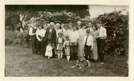 Reunião do vintage Imagem de Stock Royalty Free