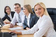 Reunião informal Foto de Stock