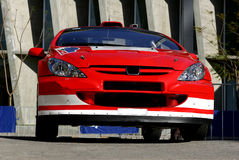 Reunião México WRC 2004 Foto de Stock