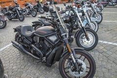 Reunião nacional Halden do PORCO, Noruega 12 ao 15 de junho de 2014 (bicicletas) Fotografia de Stock