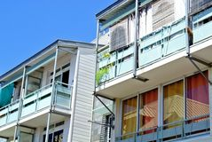 Reunion Island lägenheter Arkivbild
