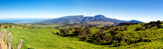 Reunion Island landscape Royalty Free Stock Photo