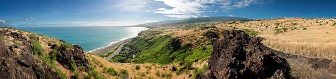 Reunion Island landscape Stock Photography