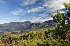 Reunion Island - montagne Fotografia Stock Libera da Diritti