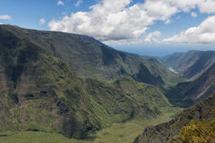 Reunion island mountains cirque Stock Photos