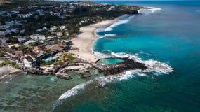 Reunion Island touristic område fotografering för bildbyråer