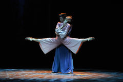 Reunion of Resurrection.-The third act of dance drama-Shawan events of the past Stock Image