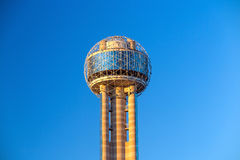 Reunion Tower in Dallas Stock Image