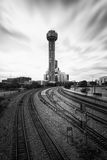Reunion Tower in Dallas, Texas, USA. The Reunion Tower in Dallas, Texas, USA royalty free stock photo
