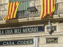 Reus Catalonia, Spanien arkivbilder