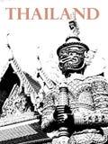 Reus van Tempel in Thailand royalty-vrije stock afbeelding
