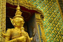 Reus in Wat Phra Kaew Bangkok, Thailand Stock Foto's
