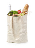 Reusable eco friendly grocery bag Stock Photo